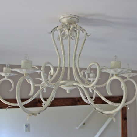 The 'Clifton' Collection - 6 Arm Candle Chandelier