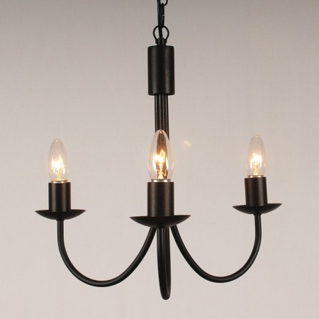 The 'Belton' Collection - 3 Arm Candle Chandelier