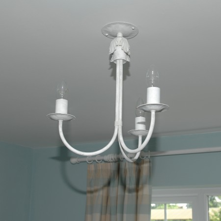 The 'Hinckley' Collection - 3 Arm Candle Ceiling Light