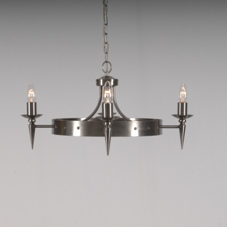 The 'Clipsham' Collection - 4 Arm wheel Chandelier
