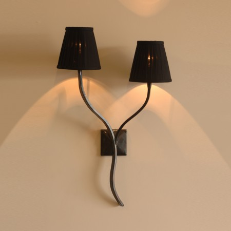 The 'Ailsworth' - Collection' Twin Candle Wall Light