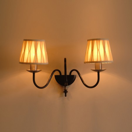 The 'Ashton' Collection - Twin Candle Wall Light
