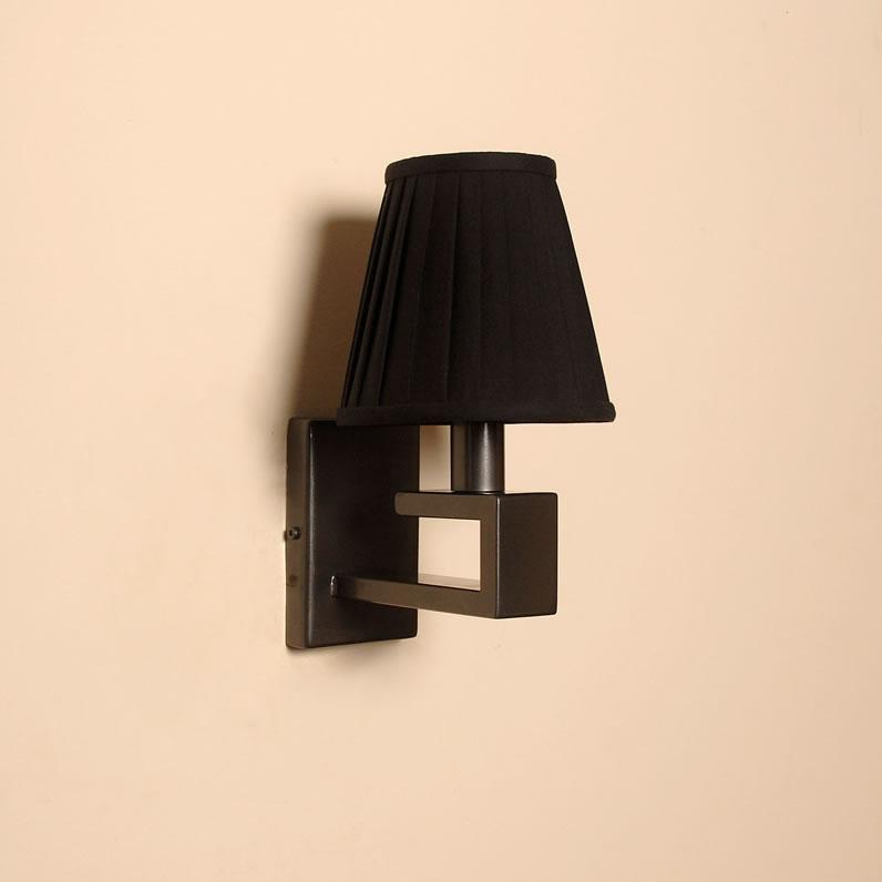 The Burley - Single Candle Wrought Iron Wall Light - Bespoke Lighting Co