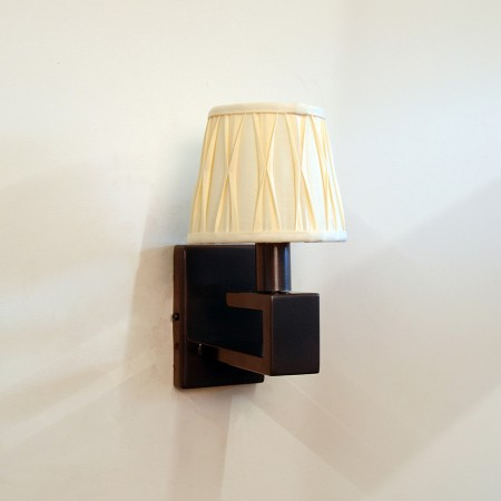 The 'Burley' Single Candle Wall Light