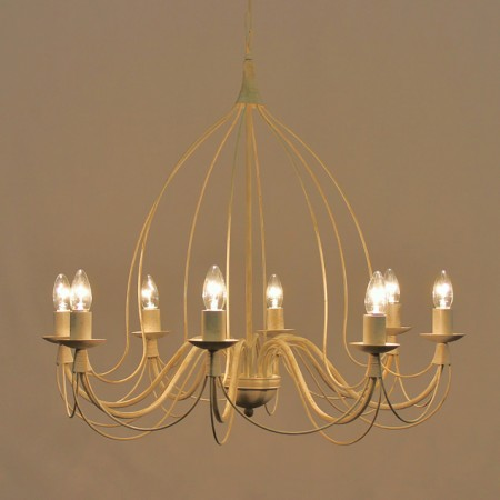 """Birdcage"" Collection – 8 Arm Ceiling light"