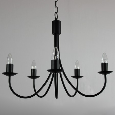 "The ""Grand Belton"" Collection - 5 Arm Candle Chandelier"