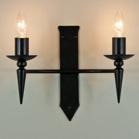 "The ""Clipsham"" Twin Wall Light"