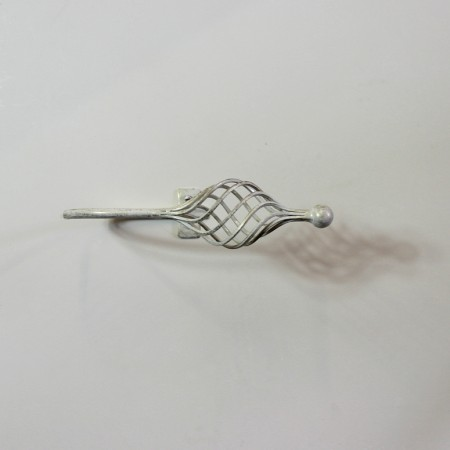 """Lattice"" Collection -  Wrought Iron Tie Back- Hook"