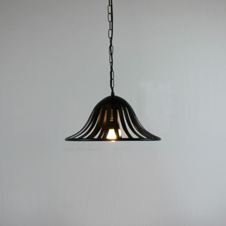 "The "" Warmington"" Collection - Single Wrought Iron Pendant Light"