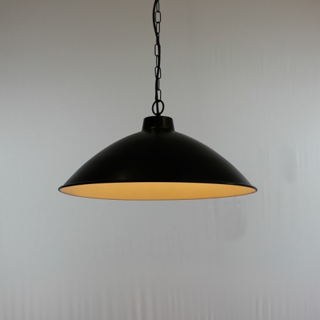 "The ""Braceborough"" Collection - Single Wrought Iron Pendant Light"