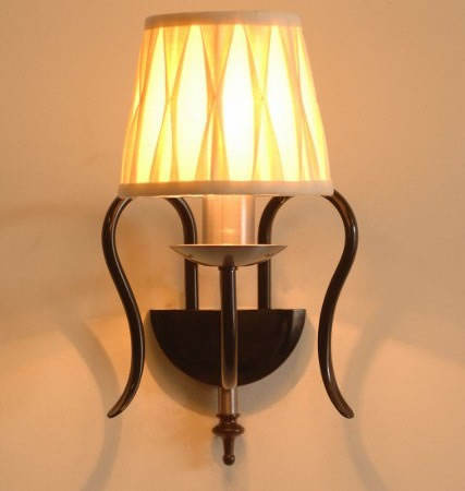 The 'Ashton' Single Candle Wall Light