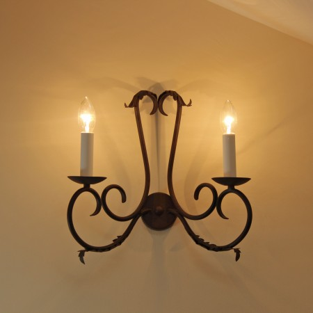"The ""Clifton"" Twin Wall Light"