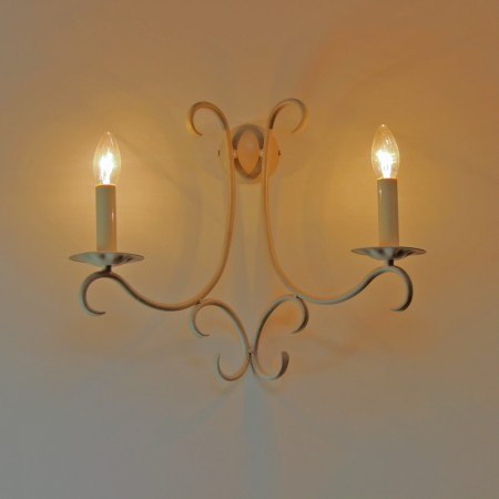 "The ""Elton"" Twin Wall Light"