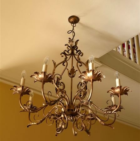 The 'Wothorpe' Collection - 8 Arm Candle Chandelier