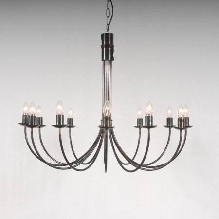 The 'Belton' Collection - 12 Arm Candle Chandelier