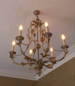 wrought-iron-chandelier-brown